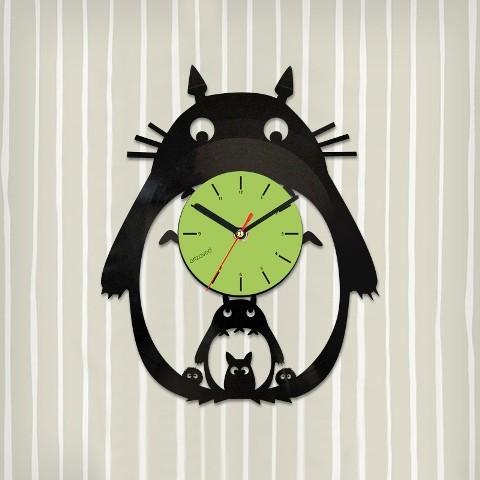 Виниловые часы Тоторо