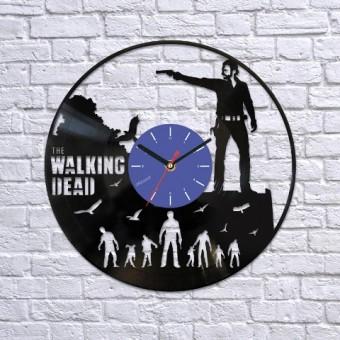 Виниловые часы Ходячие мертвецы