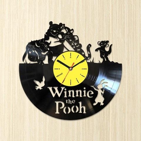 Виниловые часы Винни-Пух