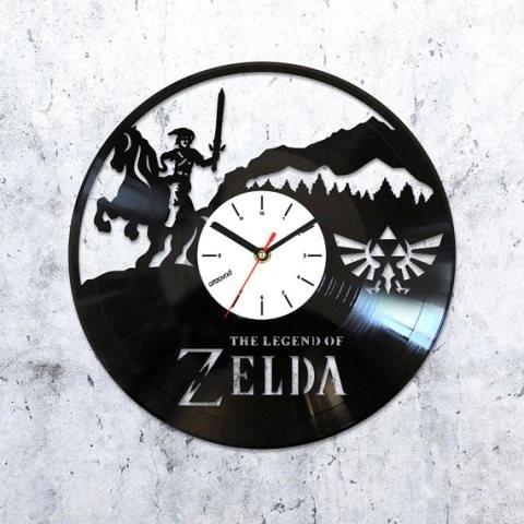 Виниловые часы The Legend of Zelda