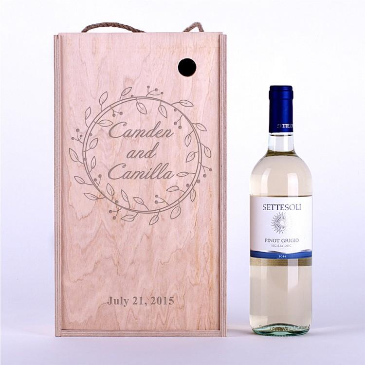 Коробка для вина Венок