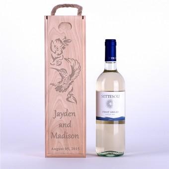 Коробка для вина Колибри