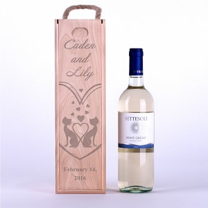 "Wine box ""Lovely cats"""