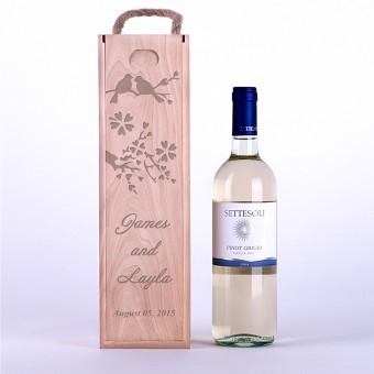 Коробка для вина Птицы