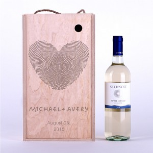 "Wine box ""Fingerprints"""