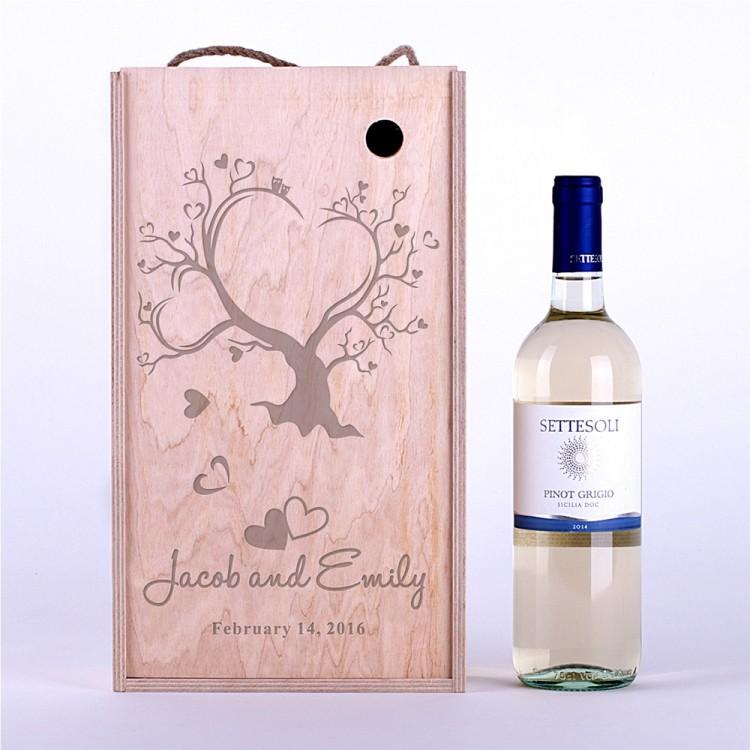Коробка для вина Дерево