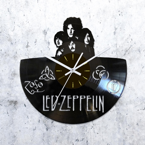 Vinyl Clock Led Zeppelin