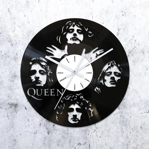 Vinyl Clock Queen